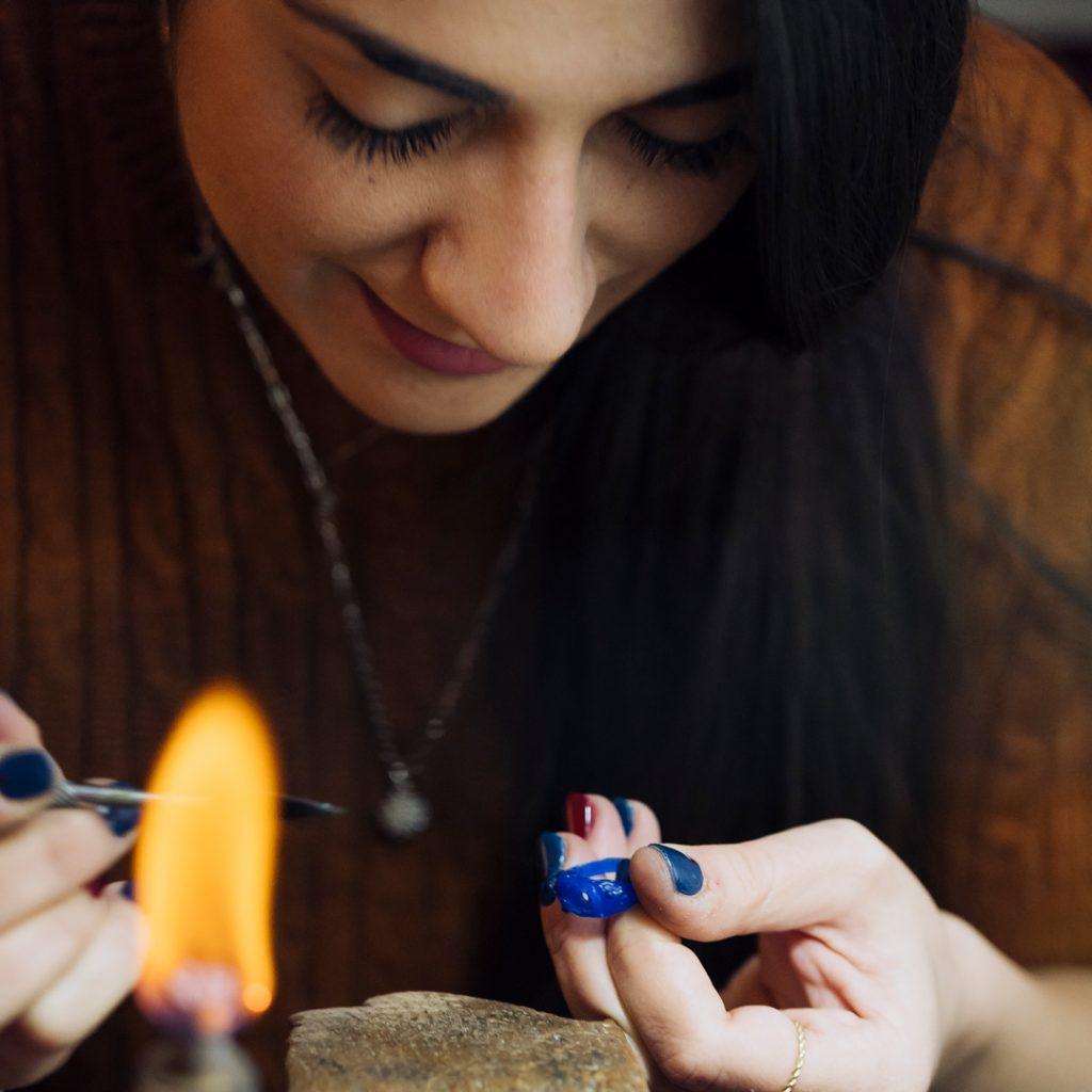 Giulia Lentini artigiana orafa