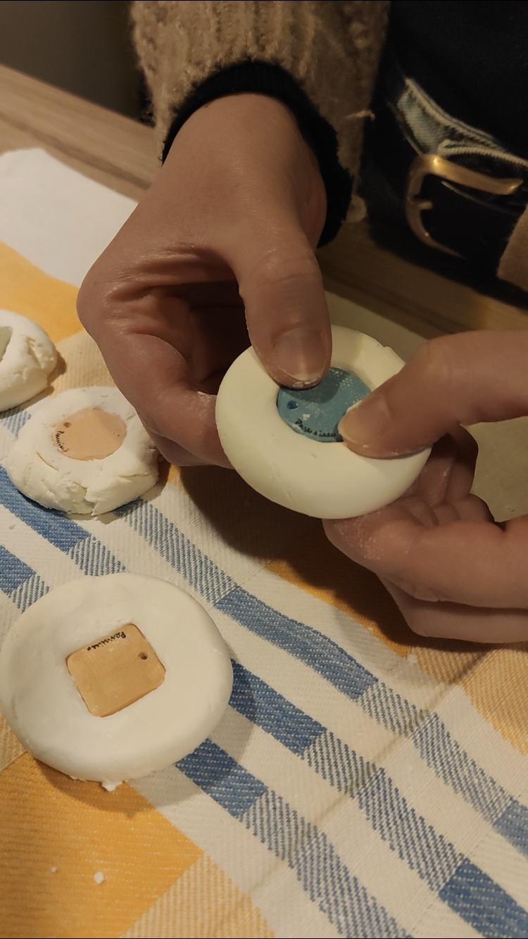 Stampo maiolica siciliana gioielli in ceramica artigianali